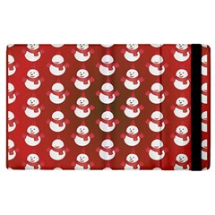 Card Cartoon Christmas Cold Apple Ipad 2 Flip Case