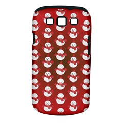 Card Cartoon Christmas Cold Samsung Galaxy S III Classic Hardshell Case (PC+Silicone)