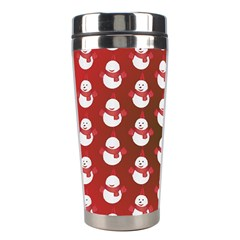 Card Cartoon Christmas Cold Stainless Steel Travel Tumblers
