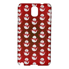Card Cartoon Christmas Cold Samsung Galaxy Note 3 N9005 Hardshell Case