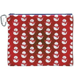 Card Cartoon Christmas Cold Canvas Cosmetic Bag (xxxl)