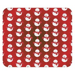 Card Cartoon Christmas Cold Double Sided Flano Blanket (small)