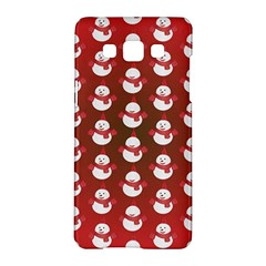 Card Cartoon Christmas Cold Samsung Galaxy A5 Hardshell Case