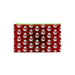 Card Cartoon Christmas Cold Cosmetic Bag (XS)