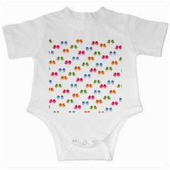 Pattern Birds Cute Design Nature Infant Creepers