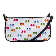 Pattern Birds Cute Design Nature Shoulder Clutch Bags