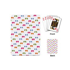 Pattern Birds Cute Design Nature Playing Cards (mini)