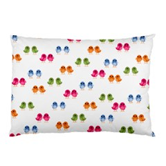 Pattern Birds Cute Design Nature Pillow Case (two Sides)