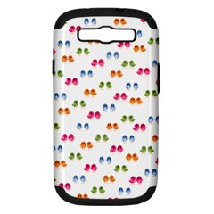 Pattern Birds Cute Design Nature Samsung Galaxy S Iii Hardshell Case (pc+silicone)