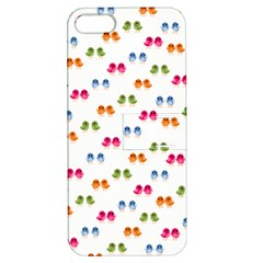 Pattern Birds Cute Design Nature Apple Iphone 5 Hardshell Case With Stand