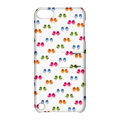Pattern Birds Cute Design Nature Apple Ipod Touch 5 Hardshell Case With Stand