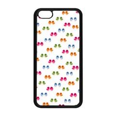 Pattern Birds Cute Design Nature Apple Iphone 5c Seamless Case (black)