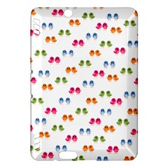 Pattern Birds Cute Design Nature Kindle Fire Hdx Hardshell Case