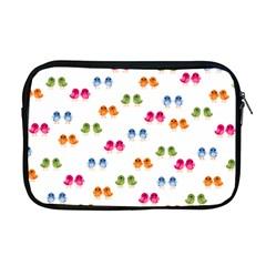 Pattern Birds Cute Design Nature Apple Macbook Pro 17  Zipper Case
