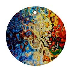 Background Structure Absstrakt Color Texture Ornament (round)