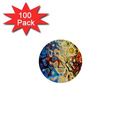 Background Structure Absstrakt Color Texture 1  Mini Buttons (100 Pack)