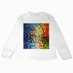 Background Structure Absstrakt Color Texture Kids Long Sleeve T-Shirts