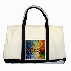 Background Structure Absstrakt Color Texture Two Tone Tote Bag