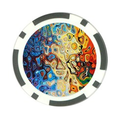 Background Structure Absstrakt Color Texture Poker Chip Card Guard