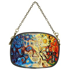 Background Structure Absstrakt Color Texture Chain Purses (one Side)