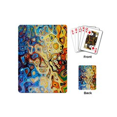 Background Structure Absstrakt Color Texture Playing Cards (mini)