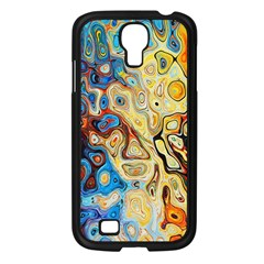 Background Structure Absstrakt Color Texture Samsung Galaxy S4 I9500/ I9505 Case (Black)