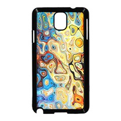 Background Structure Absstrakt Color Texture Samsung Galaxy Note 3 Neo Hardshell Case (black)