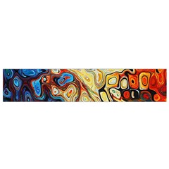 Background Structure Absstrakt Color Texture Flano Scarf (Small)