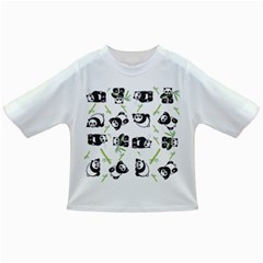 Panda Tile Cute Pattern Infant/toddler T Shirts