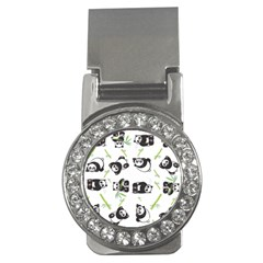 Panda Tile Cute Pattern Money Clips (CZ)