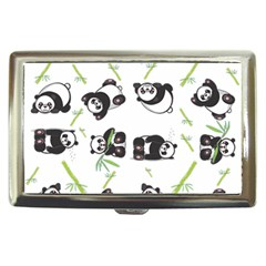 Panda Tile Cute Pattern Cigarette Money Cases