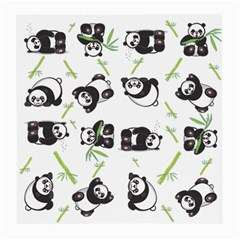 Panda Tile Cute Pattern Medium Glasses Cloth