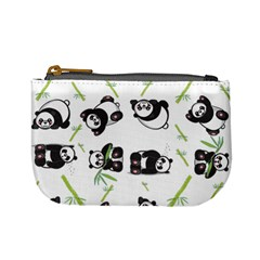 Panda Tile Cute Pattern Mini Coin Purses