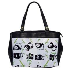 Panda Tile Cute Pattern Office Handbags