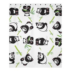 Panda Tile Cute Pattern Shower Curtain 60  x 72  (Medium)