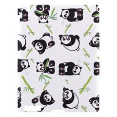 Panda Tile Cute Pattern Apple Ipad 3/4 Hardshell Case