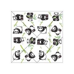 Panda Tile Cute Pattern Acrylic Tangram Puzzle (4  x 4 )