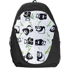 Panda Tile Cute Pattern Backpack Bag