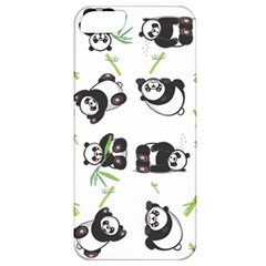 Panda Tile Cute Pattern Apple Iphone 5 Classic Hardshell Case