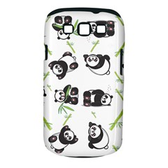 Panda Tile Cute Pattern Samsung Galaxy S Iii Classic Hardshell Case (pc+silicone)