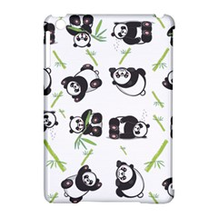 Panda Tile Cute Pattern Apple iPad Mini Hardshell Case (Compatible with Smart Cover)