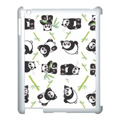 Panda Tile Cute Pattern Apple Ipad 3/4 Case (white)