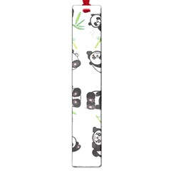 Panda Tile Cute Pattern Large Book Marks