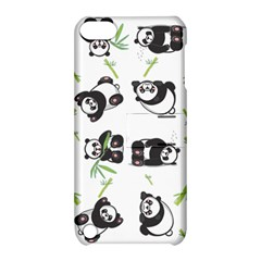 Panda Tile Cute Pattern Apple iPod Touch 5 Hardshell Case with Stand