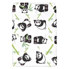 Panda Tile Cute Pattern Flap Covers (s)