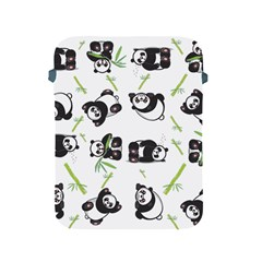 Panda Tile Cute Pattern Apple Ipad 2/3/4 Protective Soft Cases
