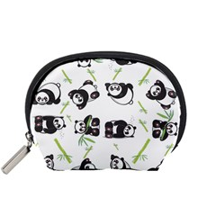 Panda Tile Cute Pattern Accessory Pouches (small)