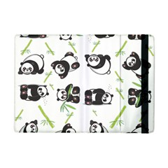 Panda Tile Cute Pattern Ipad Mini 2 Flip Cases