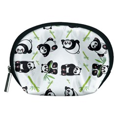 Panda Tile Cute Pattern Accessory Pouches (Medium)