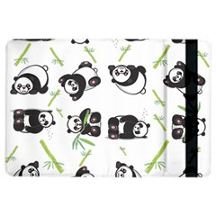 Panda Tile Cute Pattern Ipad Air 2 Flip